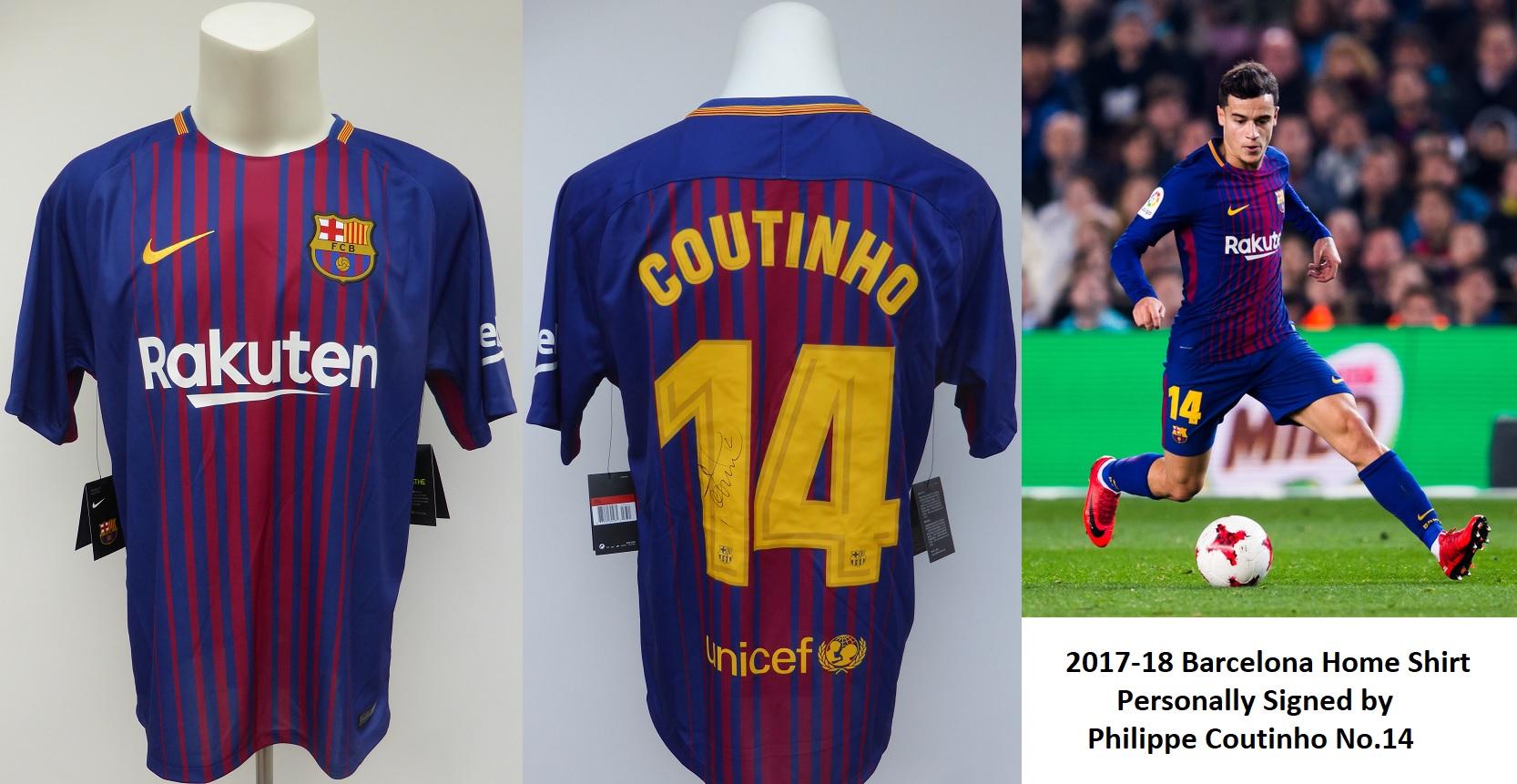349502741ae Barcelonas Philippe Coutinho Shirt - Querciacb